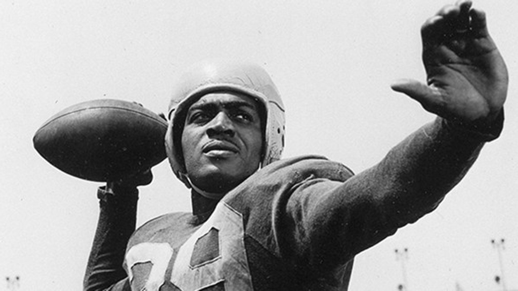 Kenny Washington - one of the four men that broke the NFL's color barrier