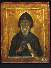 Saint John Climacus, 13th Century, tempera and gold on wood.