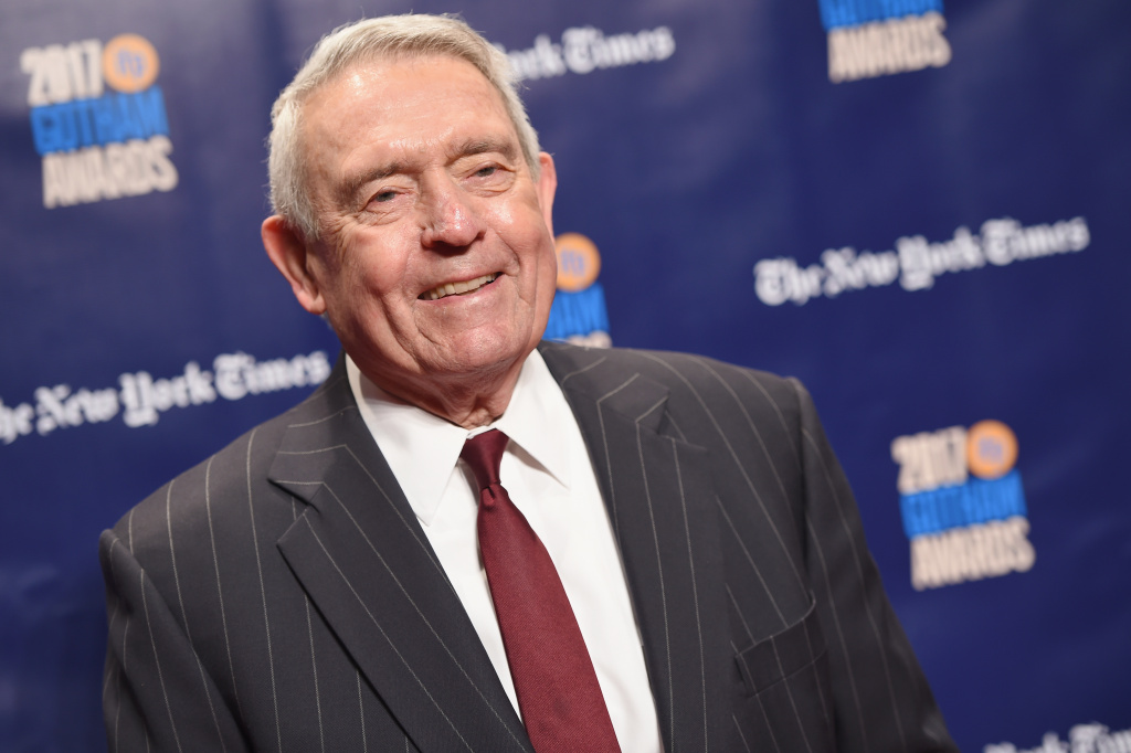 Journalist Dan Rather attends IFP's 27th Annual Gotham Independent Film Awards on November 27, 2017 in New York City.