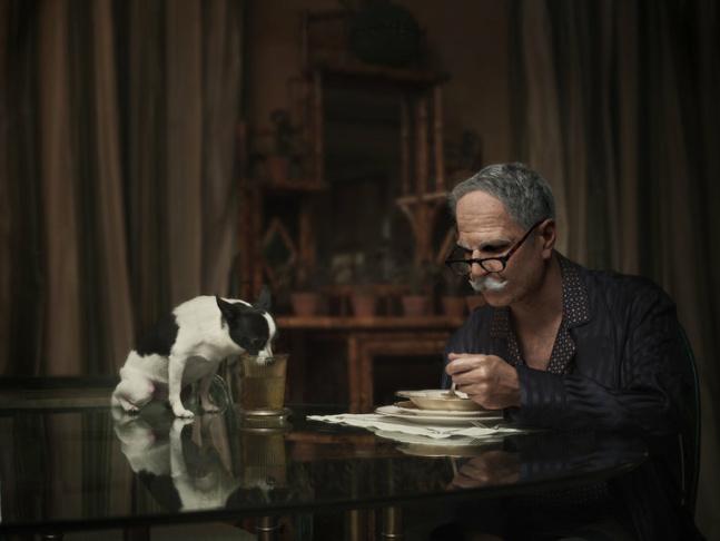 Filmmaker Joshua Seftel, left, captured photographer Phil Toledano's project,