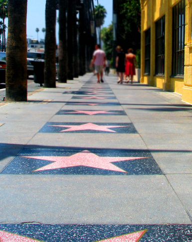 HOLLYWOOD BLVD WALK OF FAME