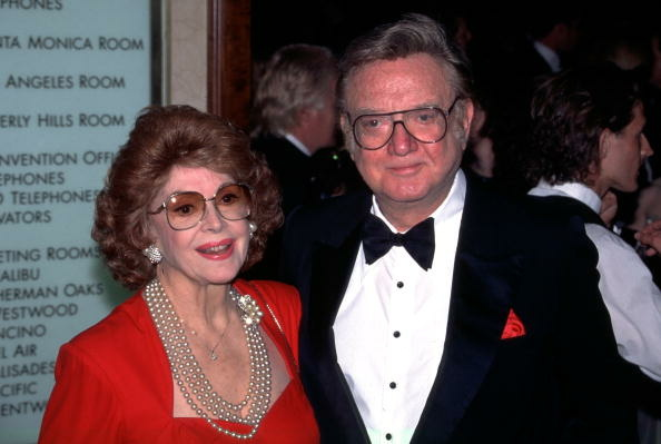 Jayne Meadows and Steve Allen Attend The Directors Guild Of America Awards Dinner In Los Angeles, in 1997.