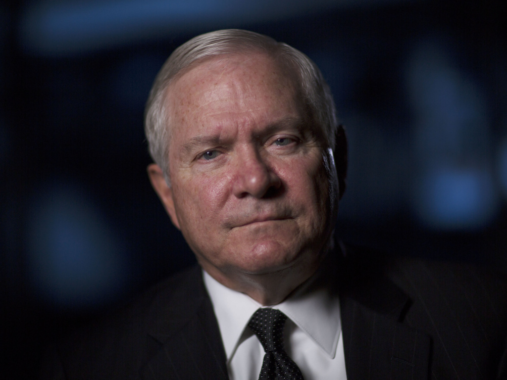Robert Gates is interviewed for