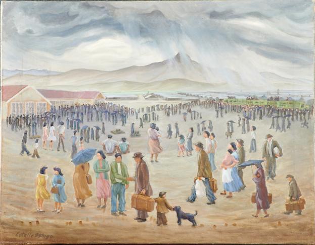 Estelle Peck Ishigo, Oil on Canvas