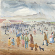 Japanese American internment art