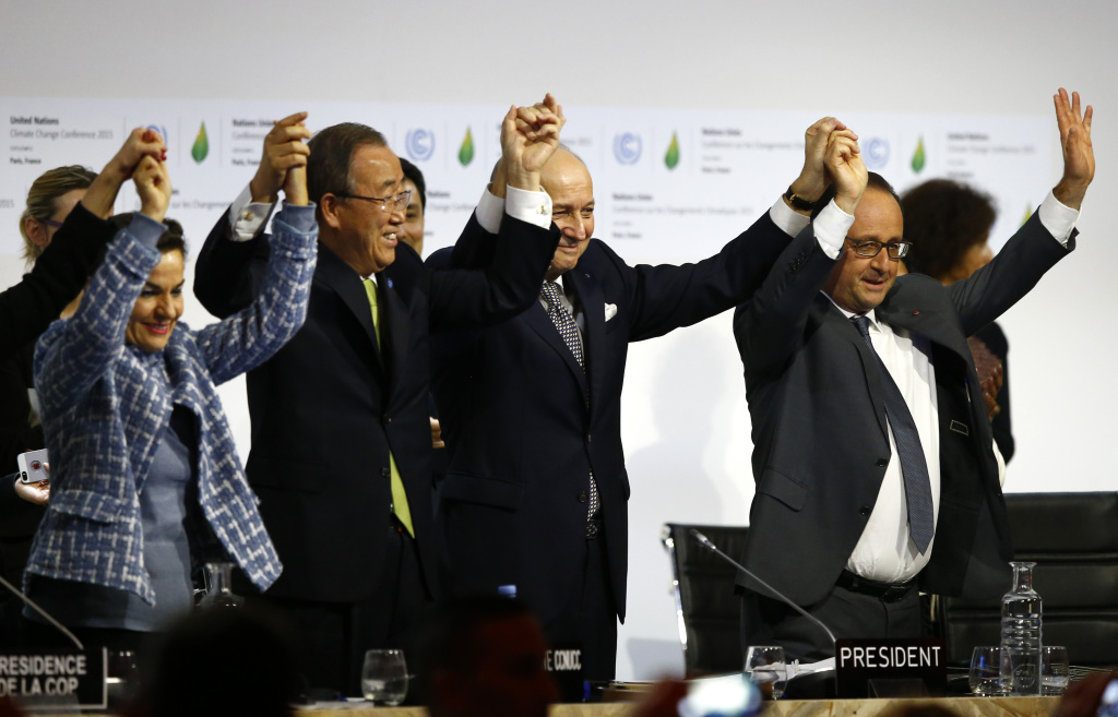 Nearly 200 Nations Adopt Agreement To Slow Global Warming 893 Kpcc