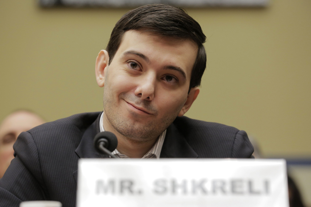 Martin Shkreli, former CEO of Turing Pharmaceuticals LLC, prepares to testify before a House Oversight and Government Reform hearing on