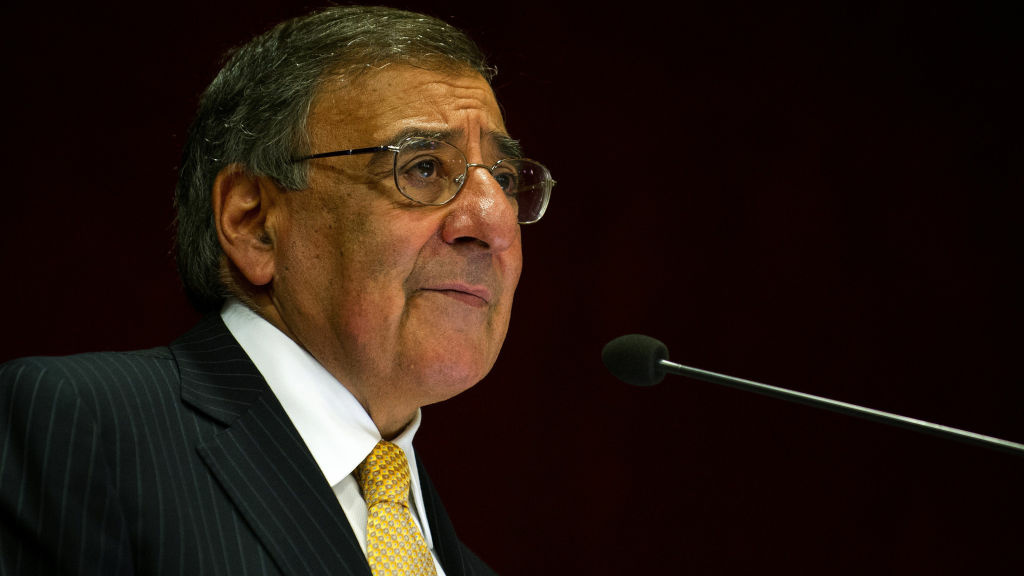 U.S. Defense Secretary Leon Panetta, shown speaking June 6 in India, said the US was
