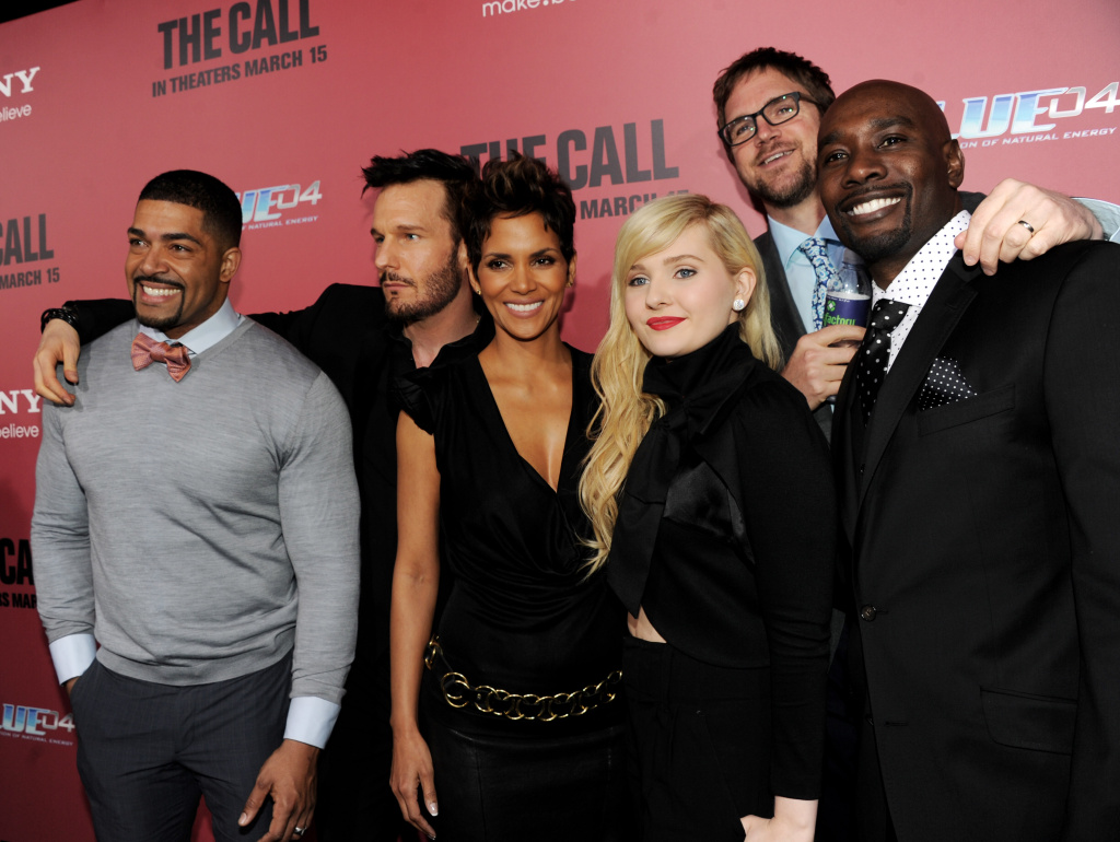 Actors David Otunga, Michael Eklund, Halle Berry, Abigail Breslin, director Brad Anderson and actor Morris Chestnut arrive at the premiere of Tri Star Pictures'