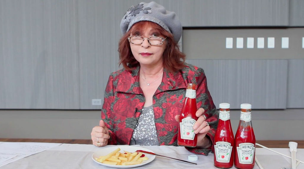 Champion, centrifugal, two-finger tap, smack, knife - they're all methods of getting ketchup out of a bottle that might become obsolete thanks to new research. Patt Morrison takes a look at ketchup and its variety of frustrating techniques.
