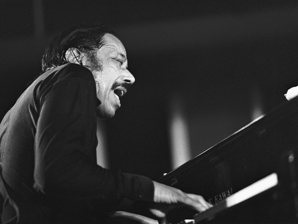 American jazz pianist Horace Silver performs at the North Sea Jazz Festival in the Hague, the Netherlands in 1988.