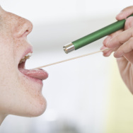 Unless it's strep throat, antibiotics are unlikely to help you get over a sore throat.