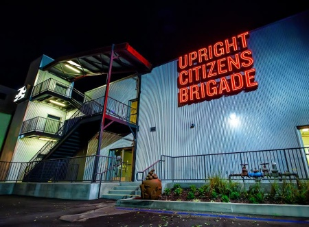 The new Upright Citizens Brigade Theatre on Sunset Boulevard.