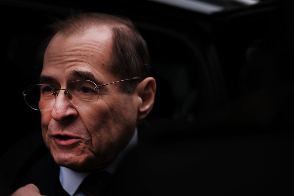 The chair of the U.S. House Judiciary Committee , Jerry Nadler, D-N.Y. in New York City last month.