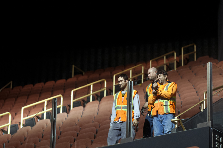 After months of $100 million-dollar renovations by the Madison Square Garden Company, The Forum in Inglewood will re-open on Wednesday with a performance by the Eagles.