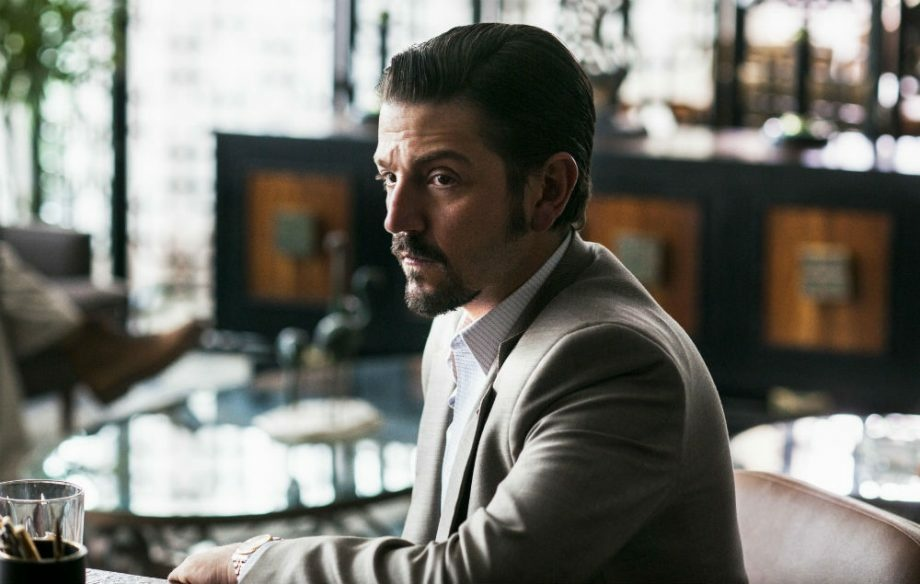 Diego Luna plays drug kingpin Miguel Ángel Félix Gallardo in the Netflix series,