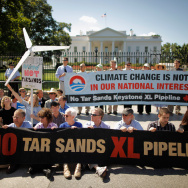 Activists Protest Proposed Canadian Tar Sands Oil Pipeline