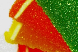 Could these neon colored confections be toxic? We're more prone to think radioactive...