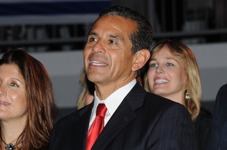 Mayor Antonio Villaraigosa during the 63rd Israel Independence Day Celebration hosted by the Consulate General Of Israel at Skirball Cultural Center on May 10, 2011 in Los Angeles.