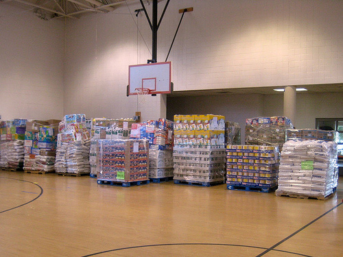 The 6th Annual Haiti Food Drive at St. Matthew Catholic Church in Charlotte, North Carolina received over 100,000 pounds of food. But how effective are these canned food drives?
