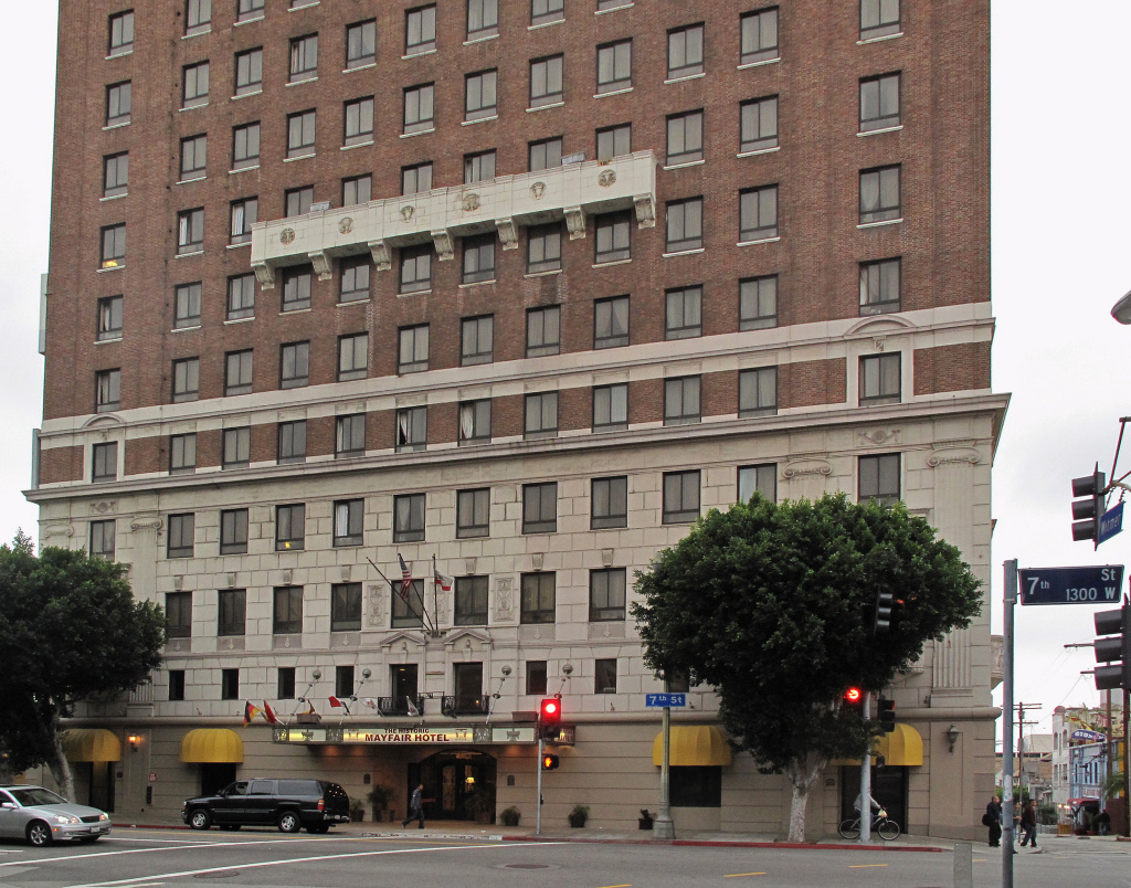 L.A.'s Mayfair Hotel is one of the businesses that would be affected by a proposed $15/hour minimum wage for its non-union employees.