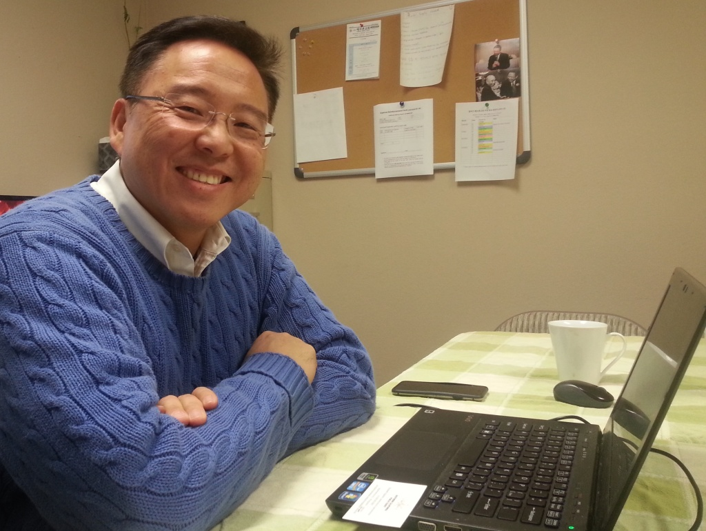 Pastor Samuel Surh, who leads Hebron Church in Irvine, teaches other Korean pastors how to help victims of domestic violence. He is one of the first pastors trained by the Korean American Family Services agency on the issue of domestic violence.