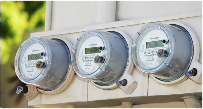 Southern California Edison's SmartConnect smart meters.