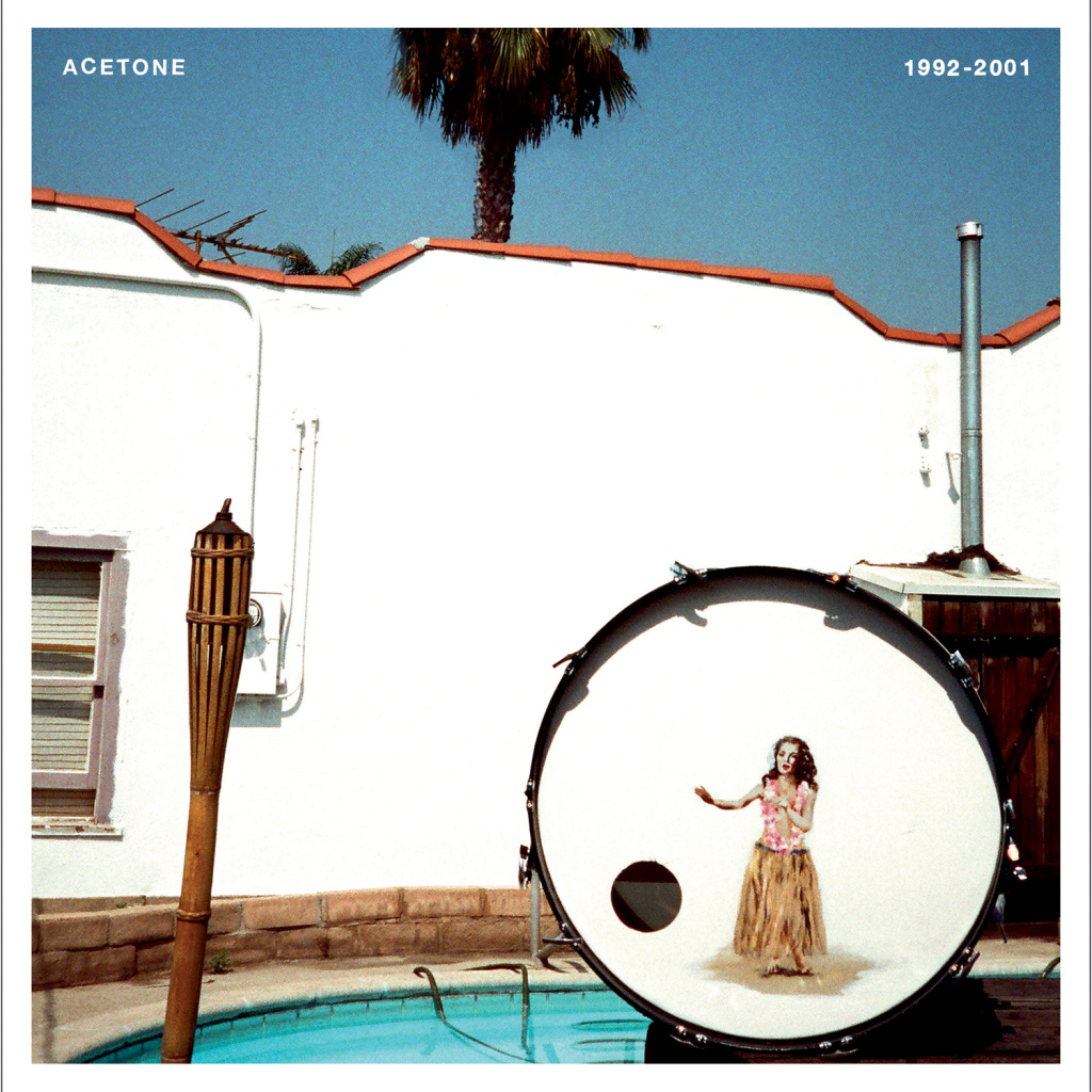 Cover art for the new album, 1992 - 2001 by the group, Acetone.