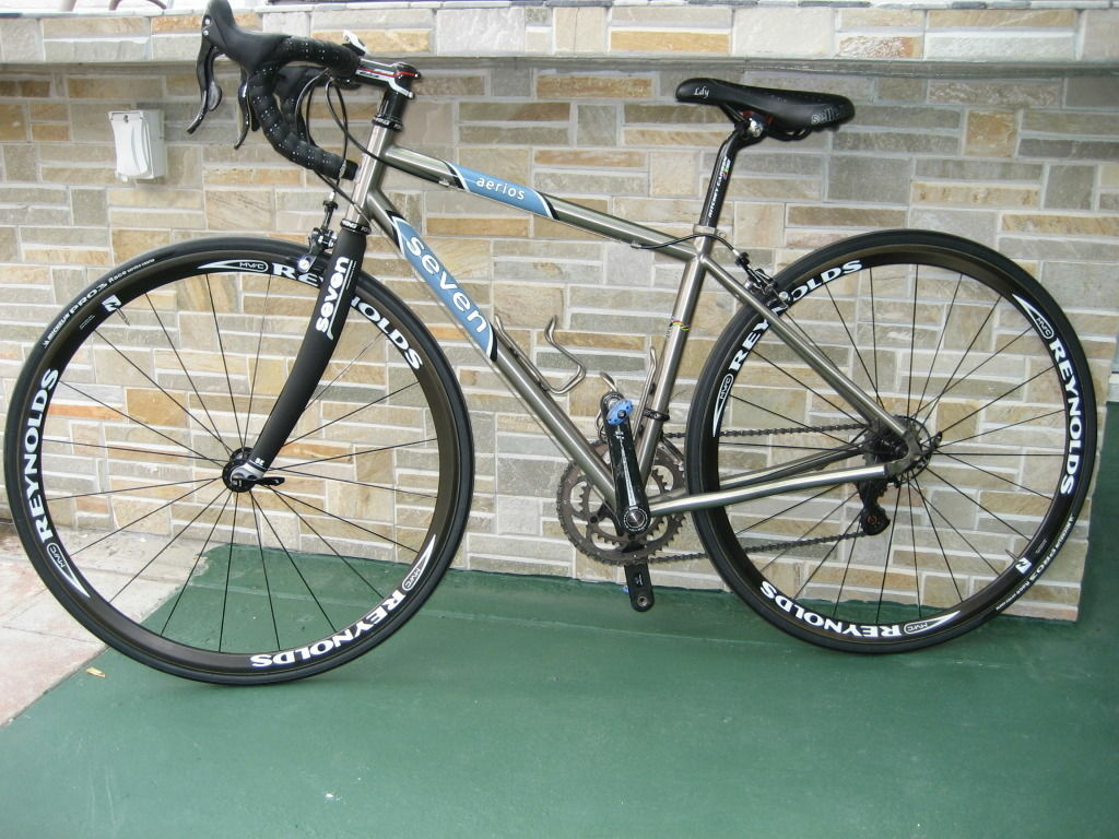 This custom Aerios road bike is currently for sale in Northridge through Craigslist for $4,500,