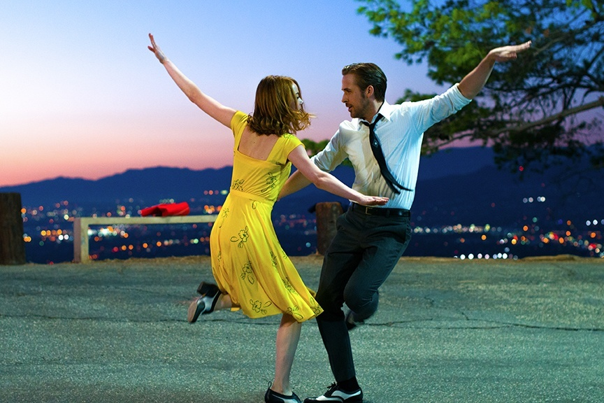 Emma Stone and Ryan Gosling star in Damien Chazelle's upcoming musical