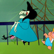 "Witch Hazel makes her Looney Toons debut in ""Bewitched Bunny."""