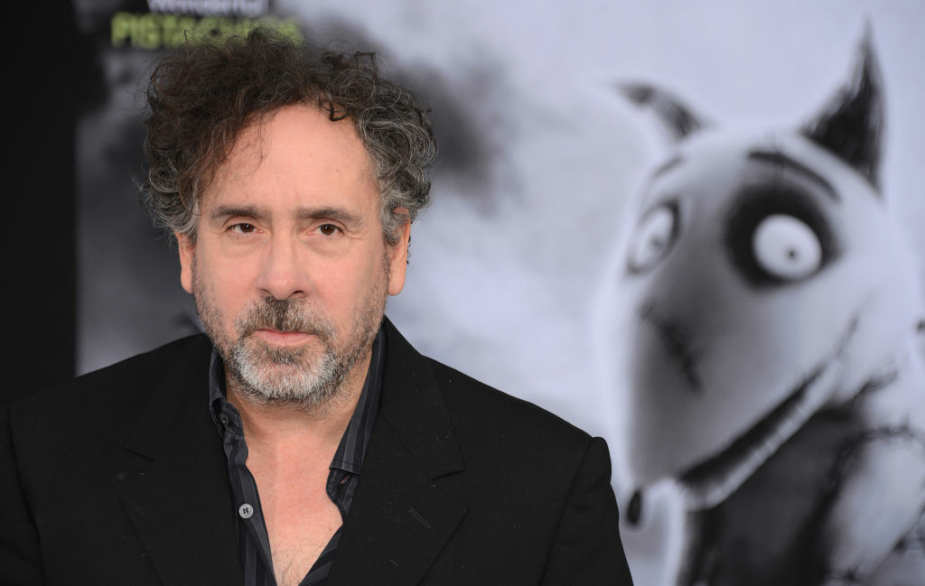 Director Tim Burton arrives for the premiere of Disney's 'Frankenweenie' in Hollywood, California September 24, 2012.