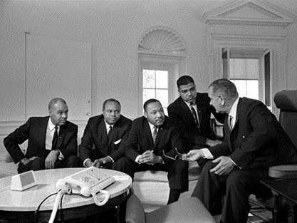When Martin Luther King And Lyndon Johnson Joined Forces