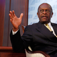 Herman Cain Discusses His 9-9-9 Plan At American Enterprise Institute In DC