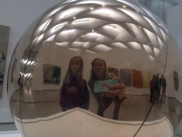 The Broad is among the art museums encouraging visitors to photobomb.