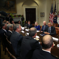 Obama And Biden Meet With Tech CEO's At White House