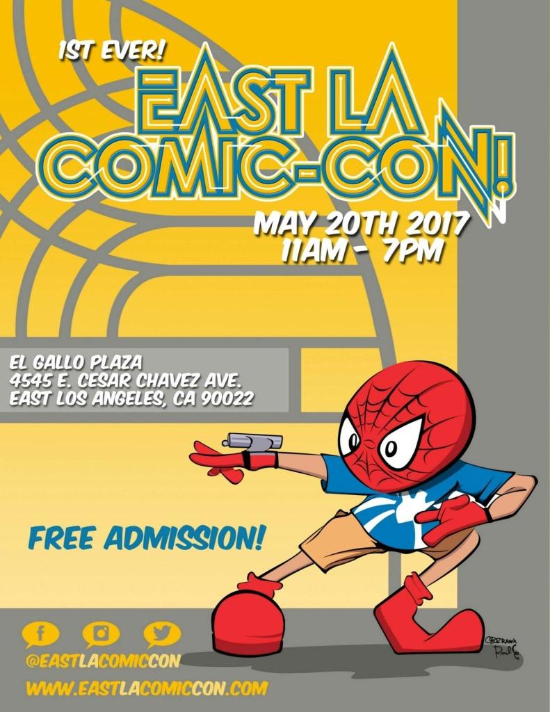 East LA Comic-Con event flyer
