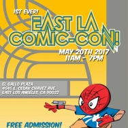 East LA Comic-Con event flyer