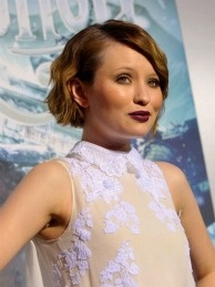 Actress Emily Browning arrives at the 'Sucker Punch' Los Angeles premiere at Grauman's Chinese Theatre on March 23, 2011 in Hollywood, California.