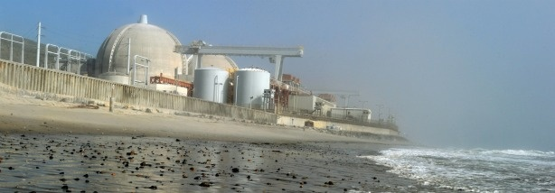View of the San Onofre Nuclear Power Plant in north San Diego County.