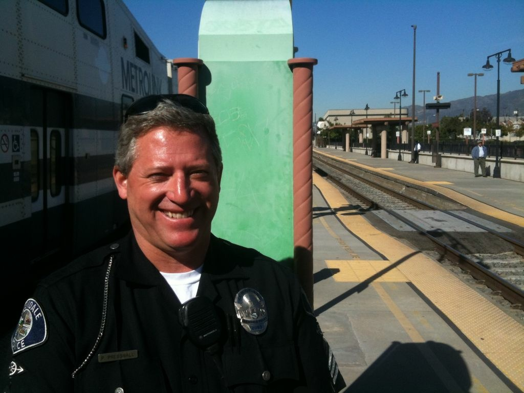 Glendale Police Sgt. Peter Presnall