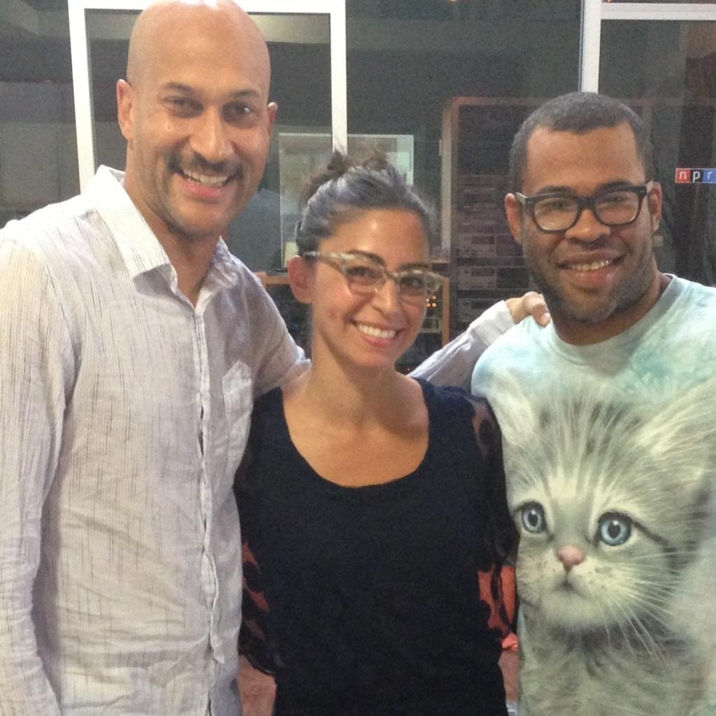Keegan-Michael Key and Jordan Peele talk Ax v Ask with NPR's Shereen Marisol Meraji.