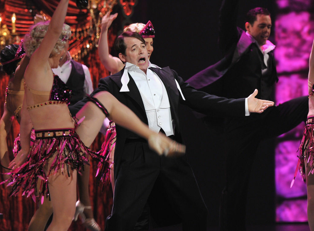 Matthew Broderick performs onstage at the 66th Annual Tony Awards at The Beacon Theatre on June 10, 2012 in New York City.