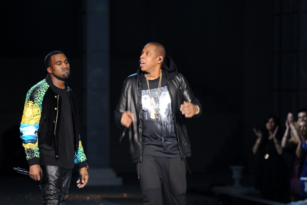 Jay-Z (right), a man of letters and law.
