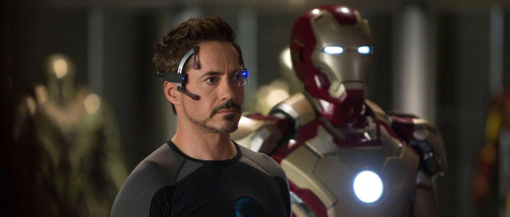 Robert Downey Jr. as Tony Stark in