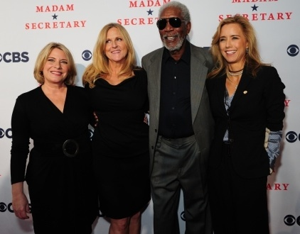 (L-R) Barbara Hall, executive producer of