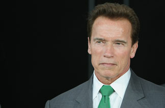 File photo: California Governor Arnold Schwarzenegger attends the 2009 CeBIT technology trade fair on March 1, 2009 in Hanover, Germany.