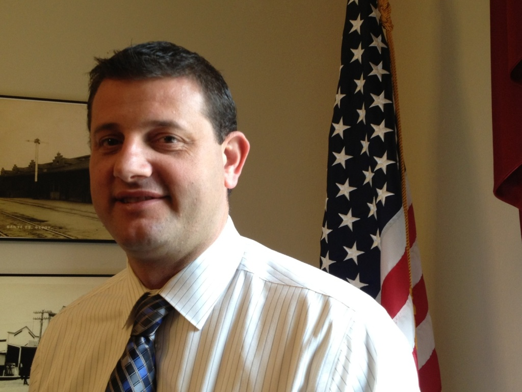 Dairy farmer turned lawmaker David Valadao (R-Hanford)