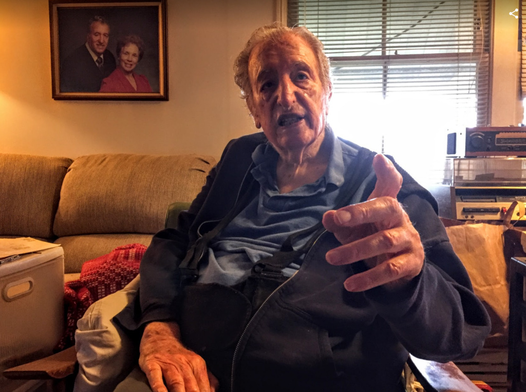 Mike Parris, 91, said he does not want to sell his Manchester Square home because of the memories he's accumulated there over the last 60 years.