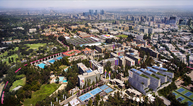 How UCLA would look if L.A. gets the 2024 Olympics.